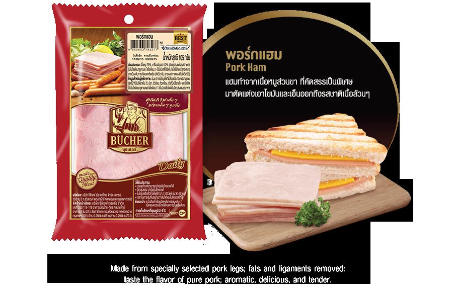 พอร์กแฮม (Pork ham)